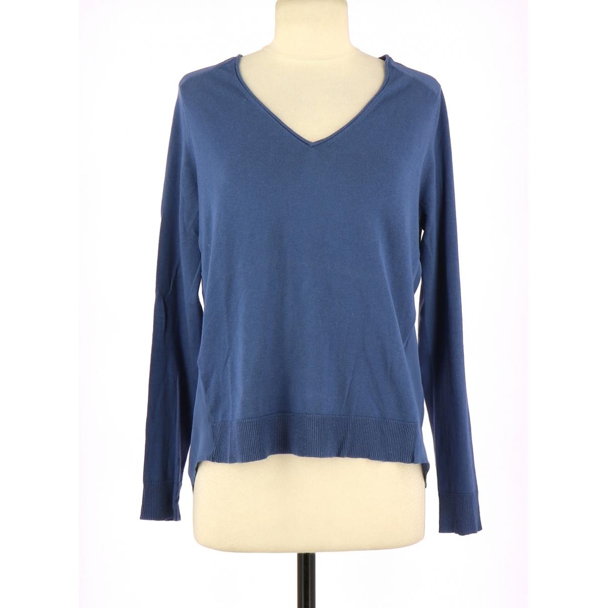 Comptoir Des Cotonniers - Pull   pour femme en coton - bleu