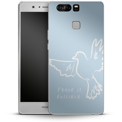 Huawei P9 Silikon Handyhuelle - Peace is Possible von caseable Designs