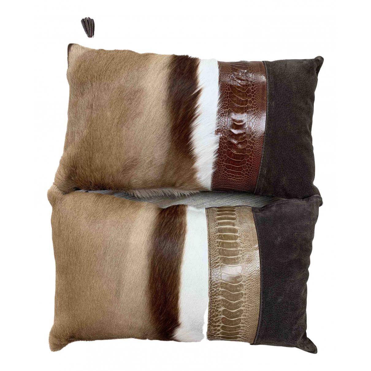 Fsp Collection - Linge de maison   pour lifestyle en fourrure - marron