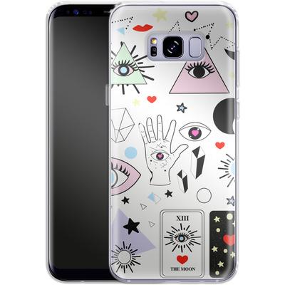 Samsung Galaxy S8 Plus Silikon Handyhuelle - Evil Eye von Mukta Lata Barua