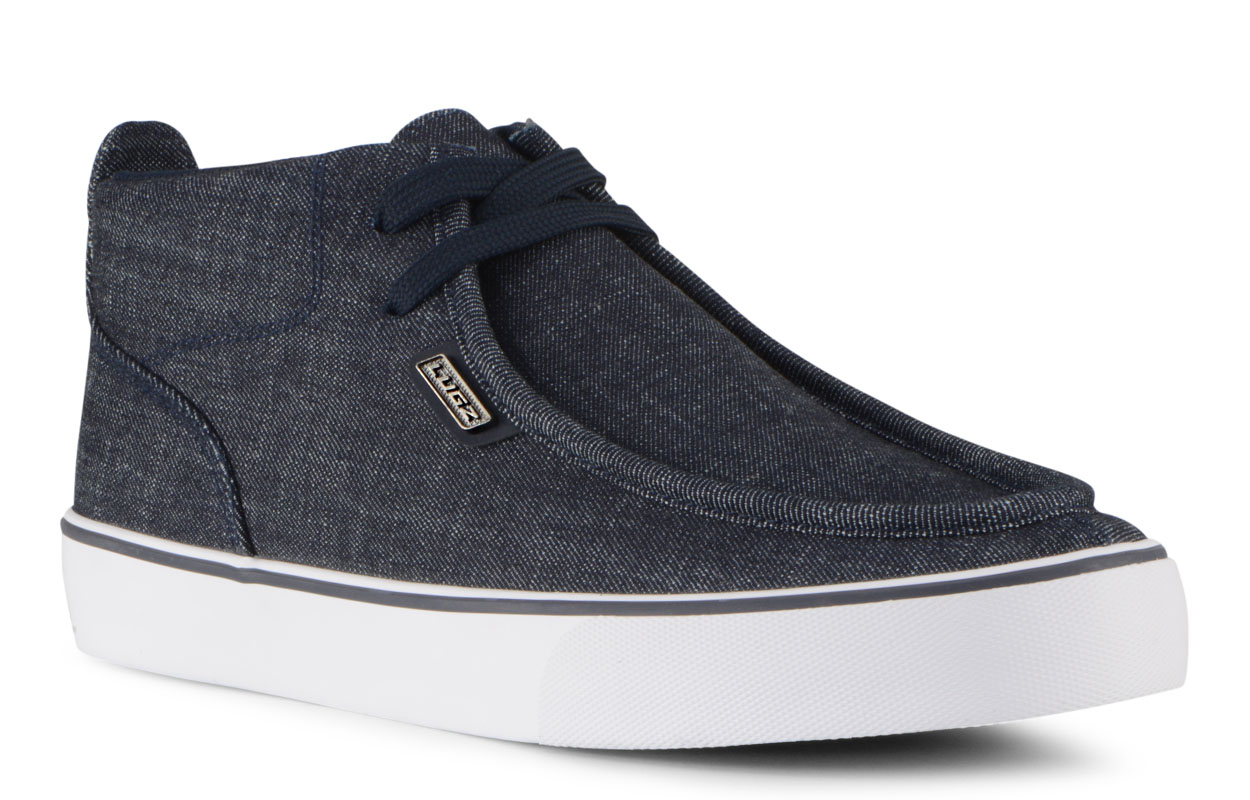 Men's Strider 2 Chukka Sneaker (Choose Your Color: NAVY/WHITE DENIM, Choose Your Size: 12.0)
