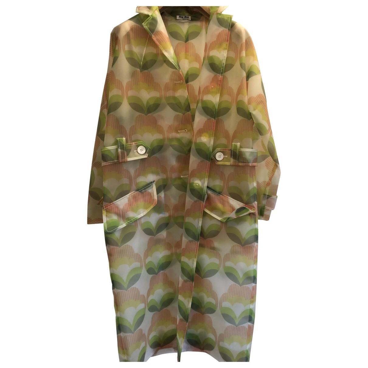 Miu Miu \N Multicolour Trench coat for Women 36 IT