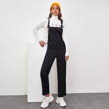 Corduroy Pocket Front Overall