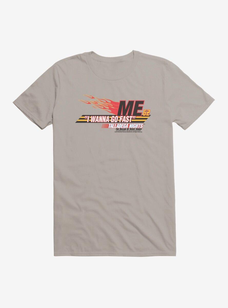 Talladega Nights: The Ballad of Ricky Bobby I Wanna Go Fast T-Shirt