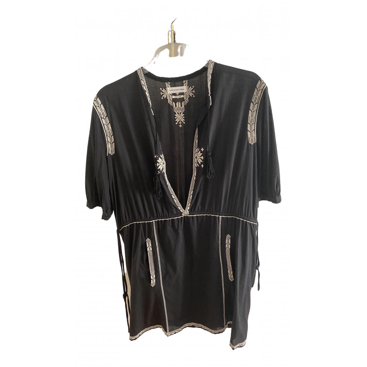 Isabel Marant \N Kleid in  Schwarz Baumwolle