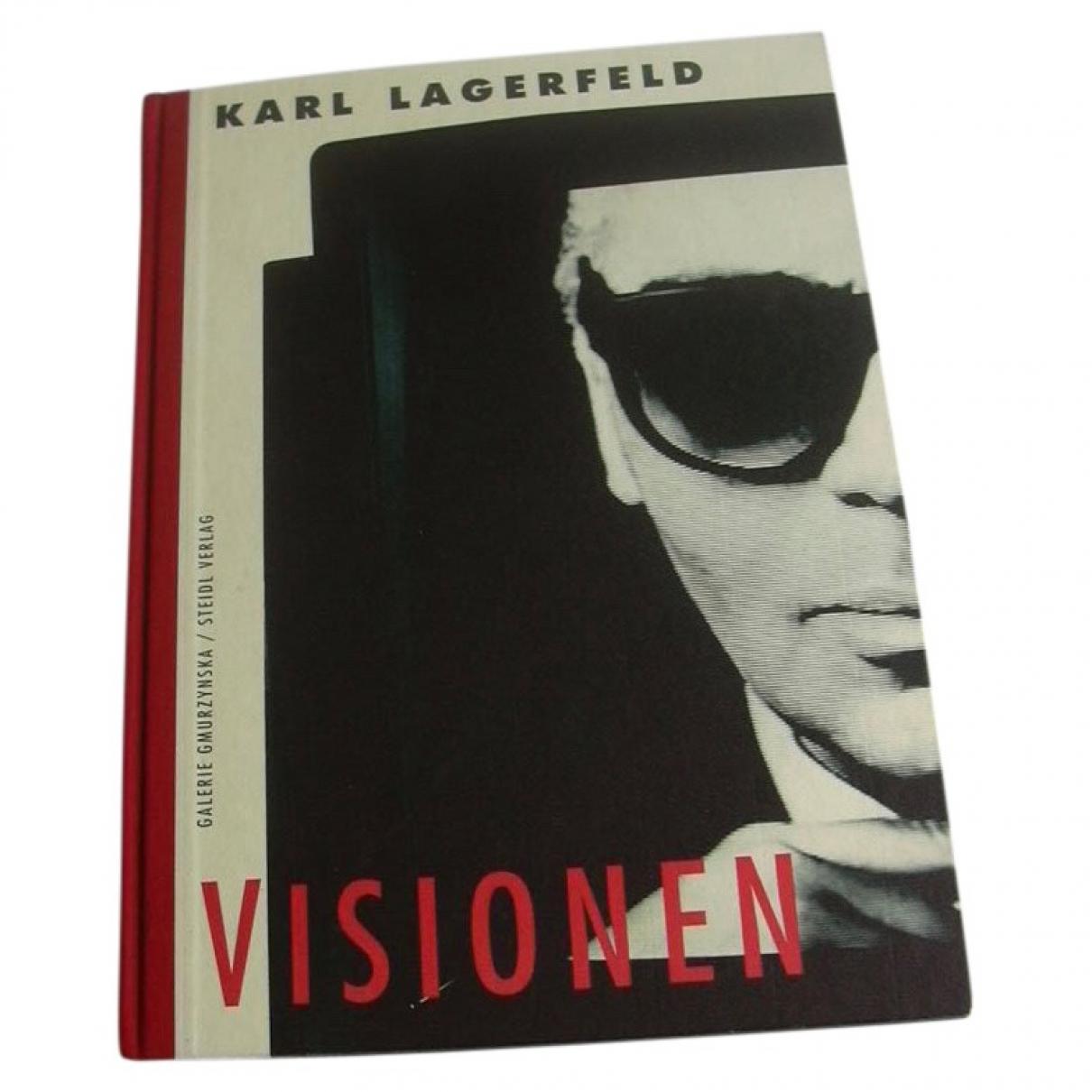 Karl Lagerfeld - Photographie   pour lifestyle en coton - anthracite