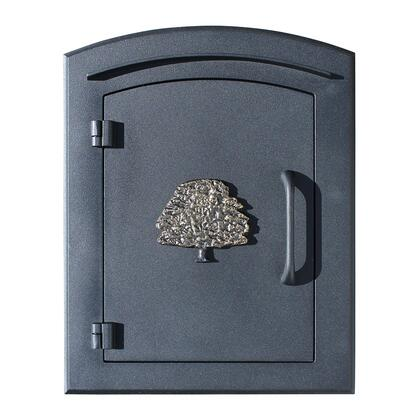 MAN-S-1404-BL Manchester Security Drop Chute Mailbox with