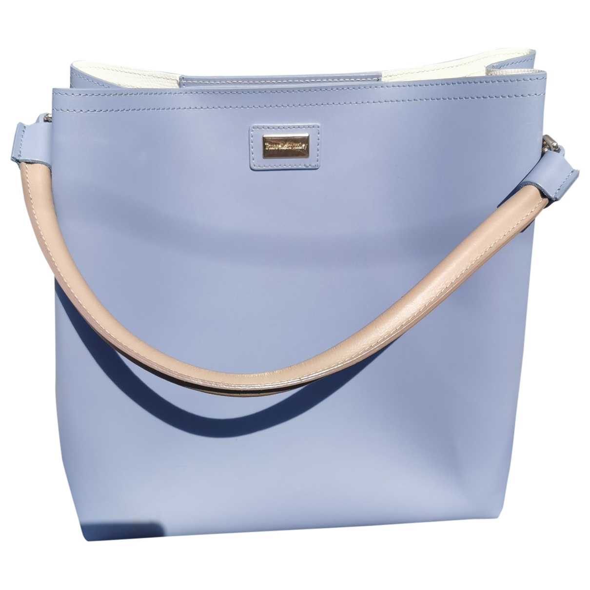 Russell & Bromley \N Blue Leather handbag for Women \N