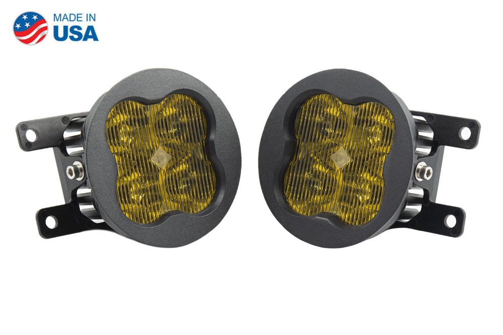 Diode Dynamics DD6183-ss3fog-3609-GBFG SS3 LED Fog Light Kit for 2005-2013 Nissan Xterra Yellow SAE/DOT Fog Pro