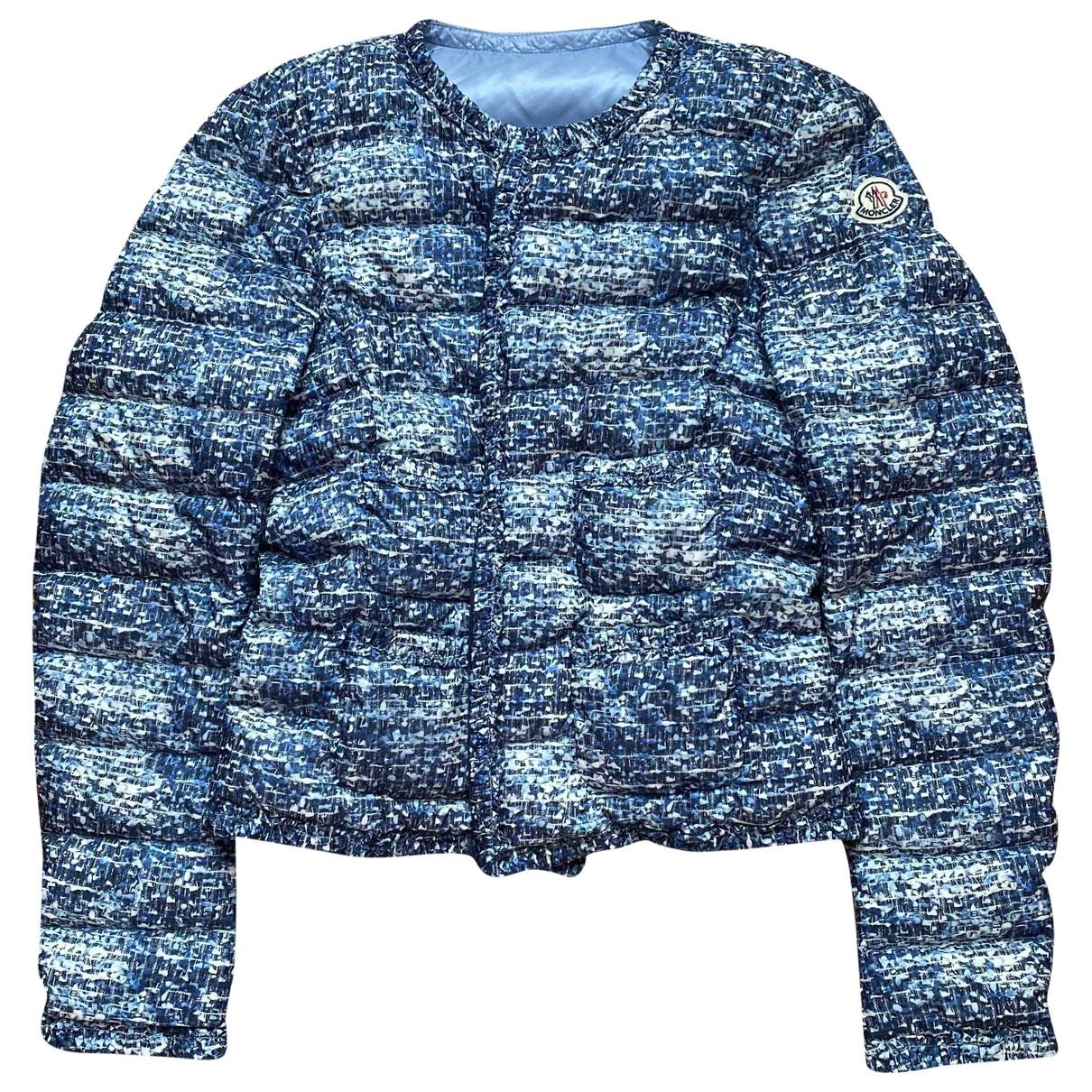 Moncler \N Blue coat for Women 2 0-5