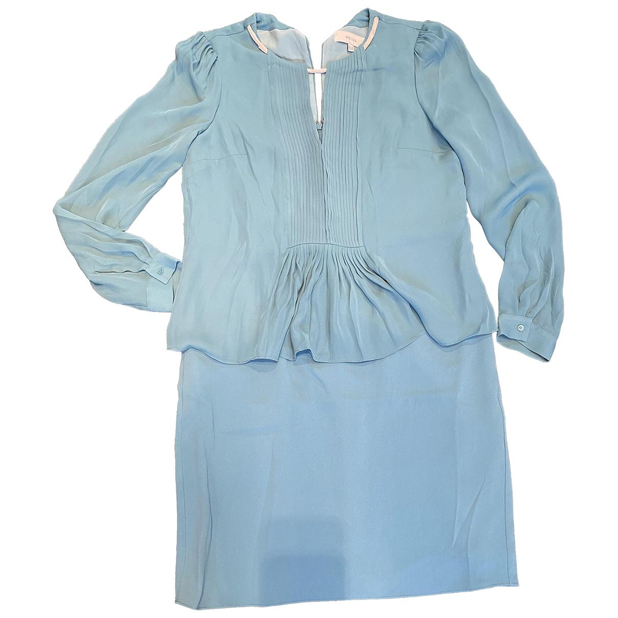 Reiss \N Kleid in  Tuerkis Polyester