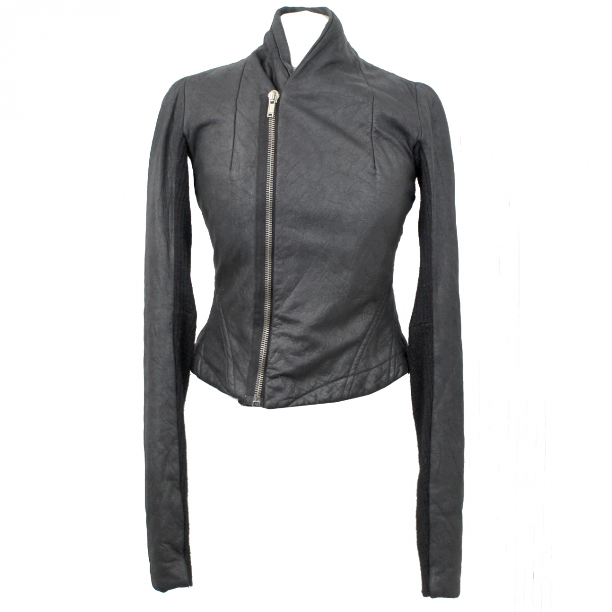 Rick Owens \N Black Leather jacket for Women 42 IT