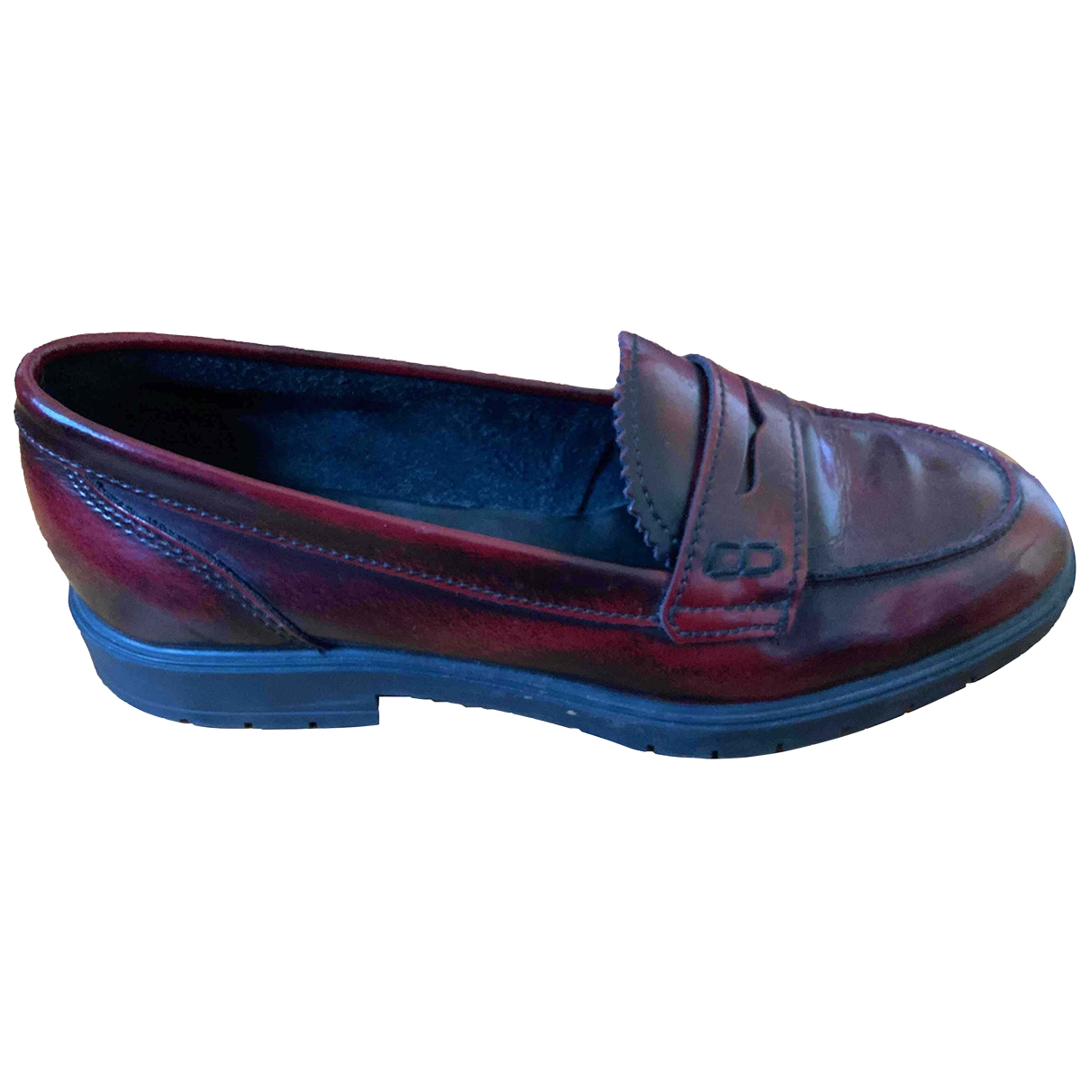 Dune \N Pink Rubber Flats for Women 38 EU