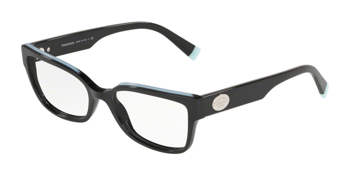 Tiffany & Co. TF2185F Asian Fit 8001 Women's Glasses Black Size 53 - Free Lenses - HSA/FSA Insurance - Blue Light Block Available