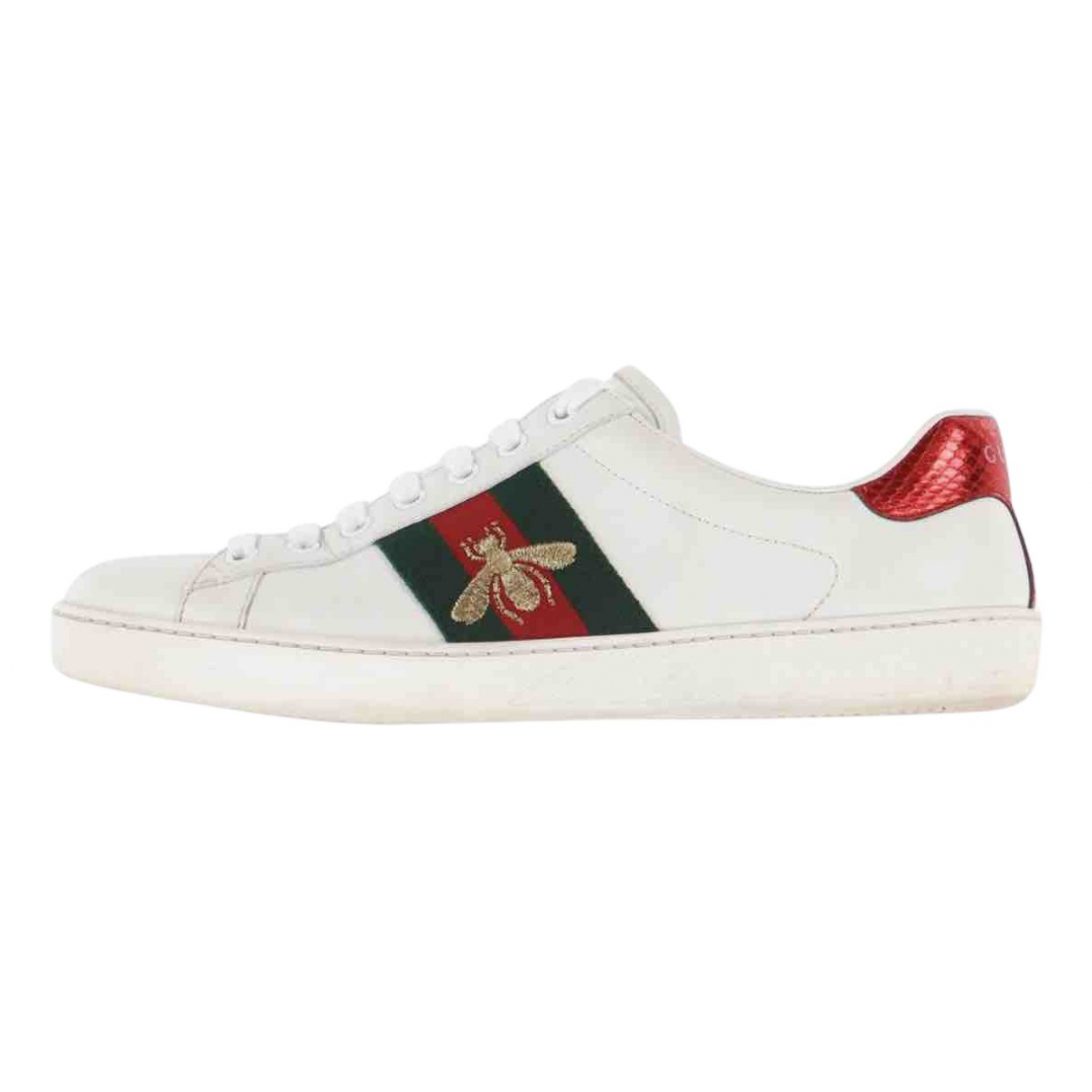 Gucci \N White Leather Lace ups for Women 7.5 UK
