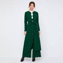 Outfit de dos piezas Cinta Liso Elegante