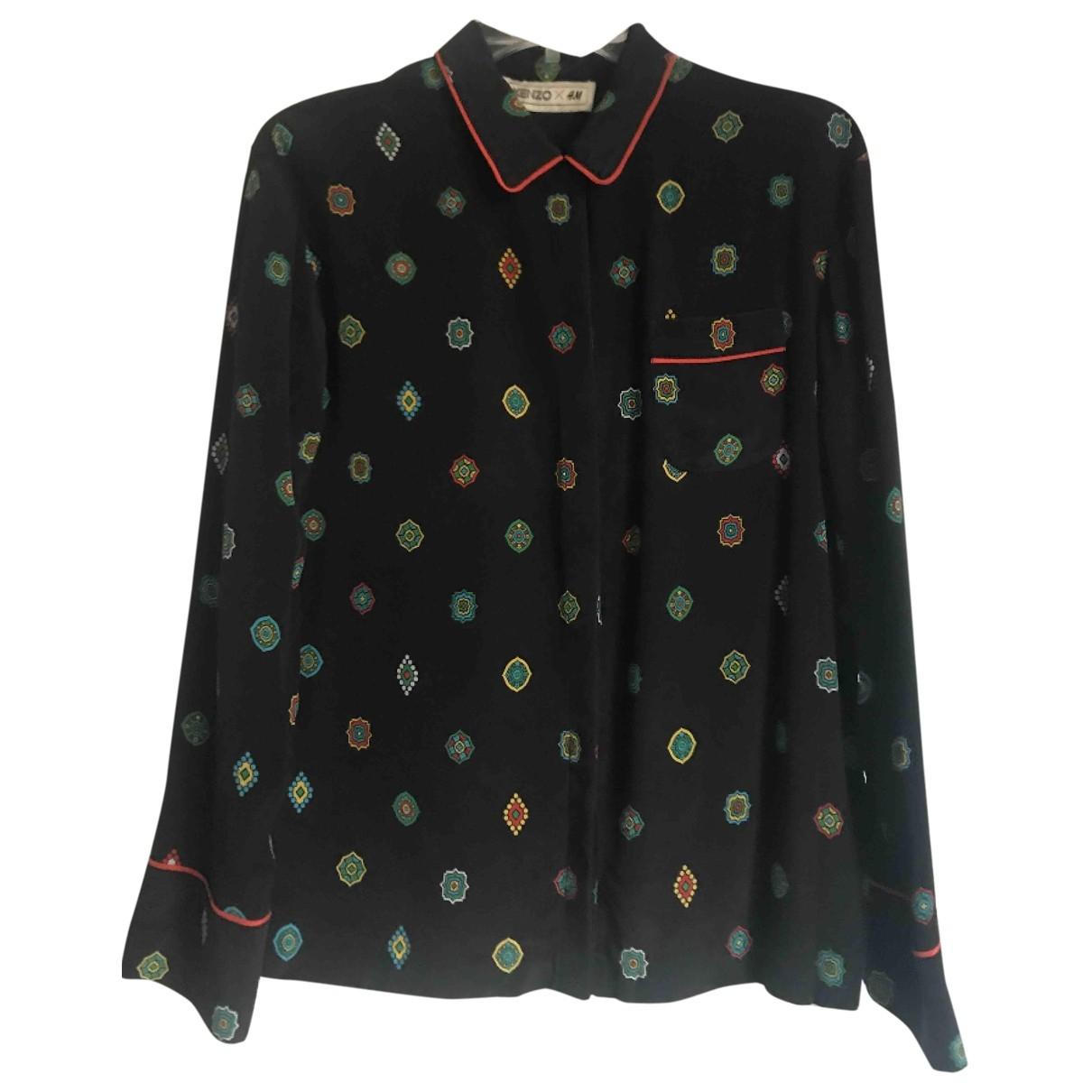 Kenzo X H&m \N Black Silk  top for Women 34 FR
