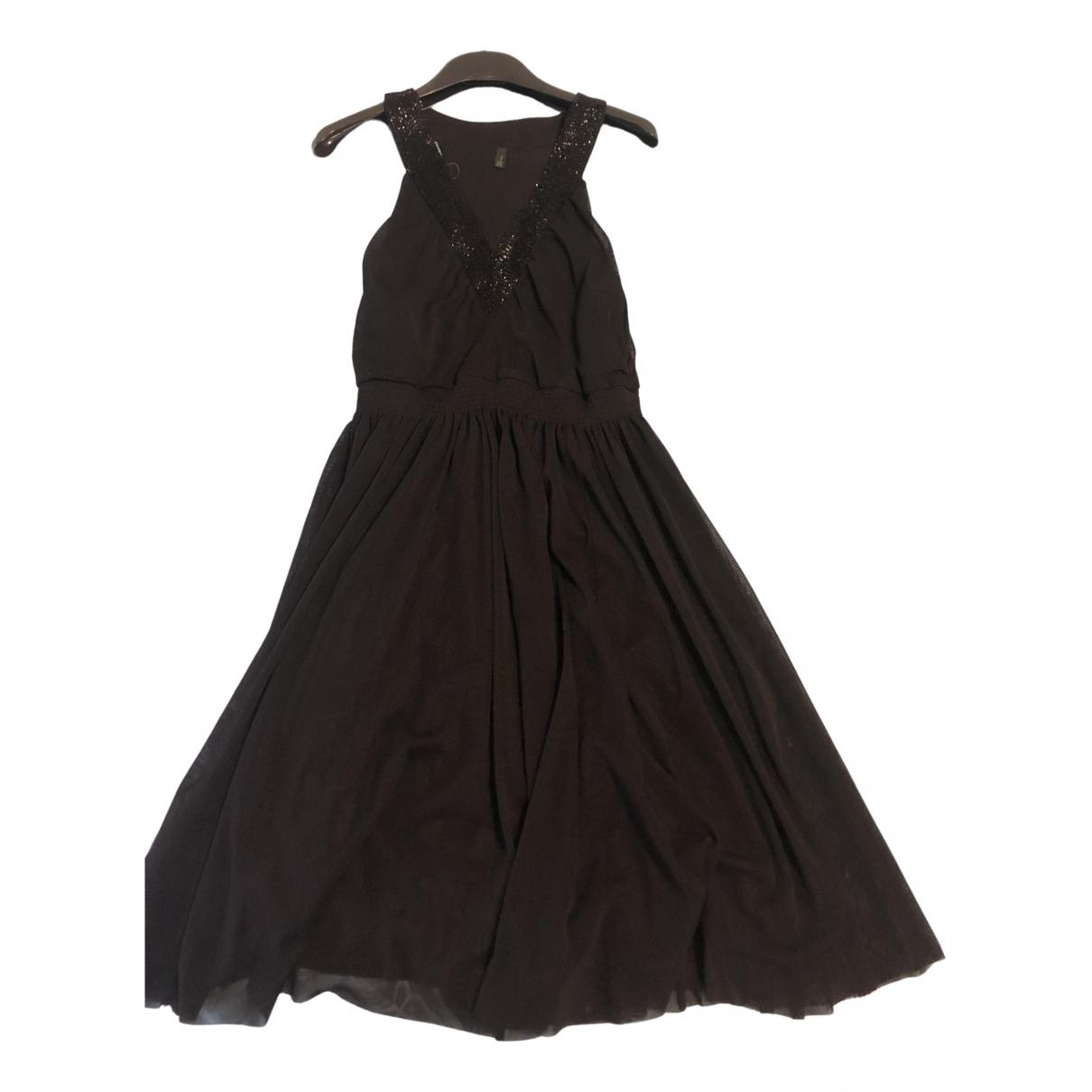 Benetton \N Kleid in  Schwarz Polyester