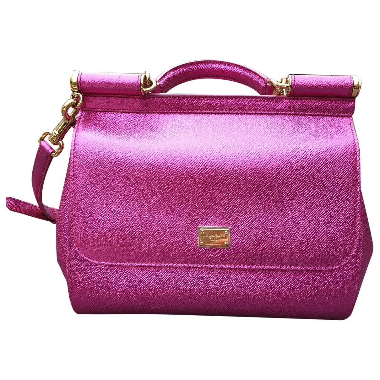 Dolce & Gabbana Sicily Metallic Leather handbag for Women \N