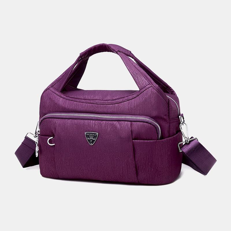 Women Waterproof Multi-pocket Large Capacity Handbag Crossbody Bag
