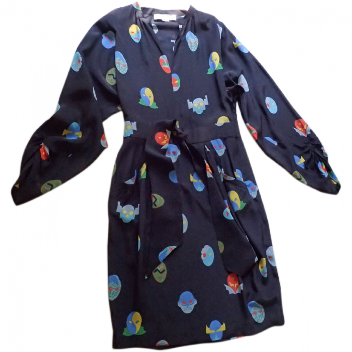 Stella Mccartney \N Multicolour Silk dress for Women 44 IT