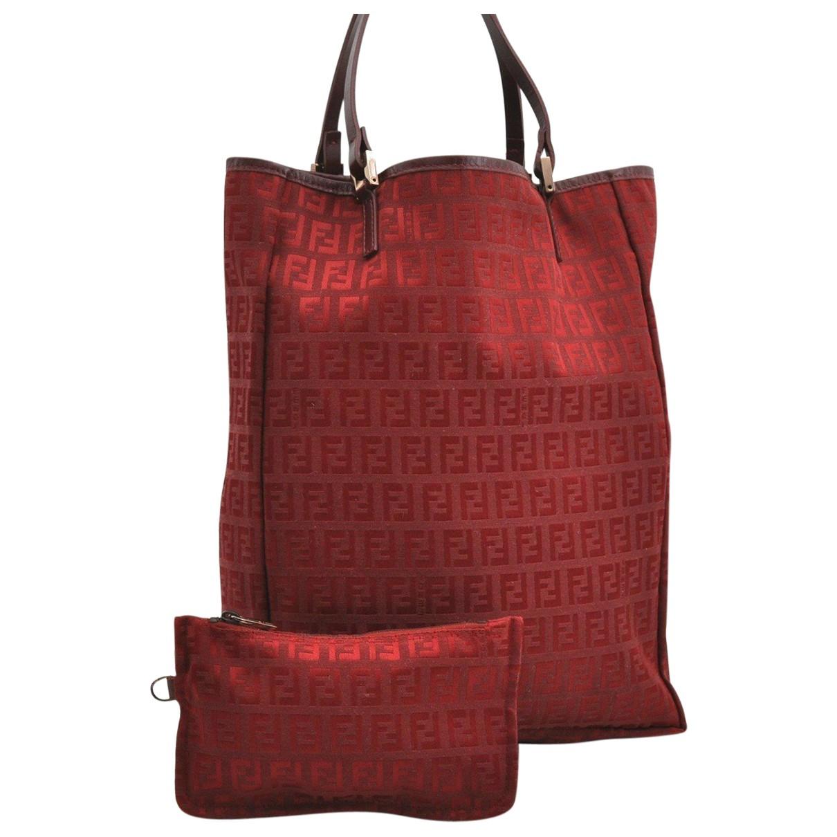 Fendi N Red Cloth handbag for Women N