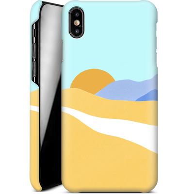 Apple iPhone XS Max Smartphone Huelle - Sunset Beach von Lucy Bohr