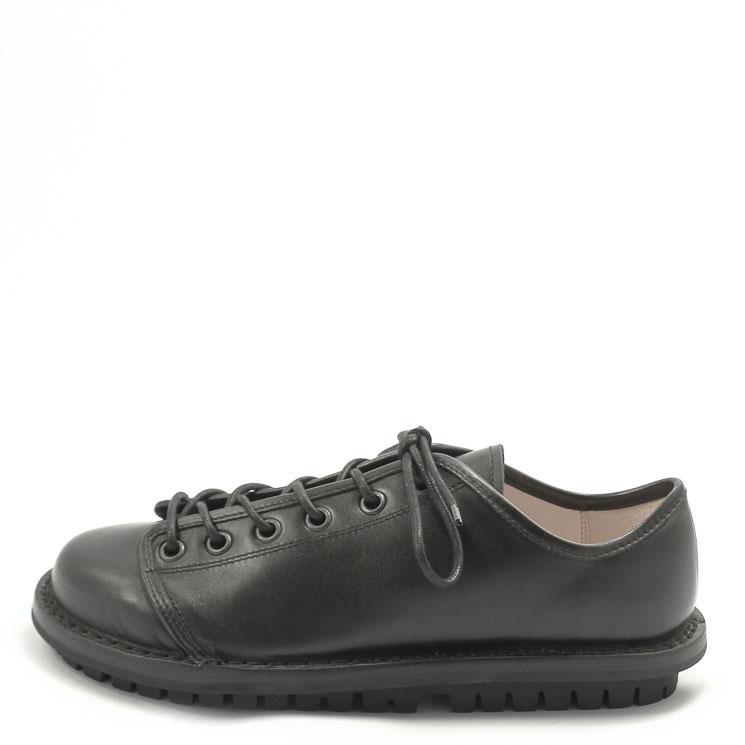 Trippen, Tödi m Closed Men's Lace-up Shoes, black Größe 45