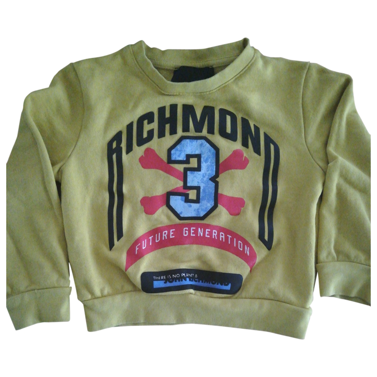 John Richmond \N Yellow Cotton Knitwear for Kids 4 years - up to 102cm FR