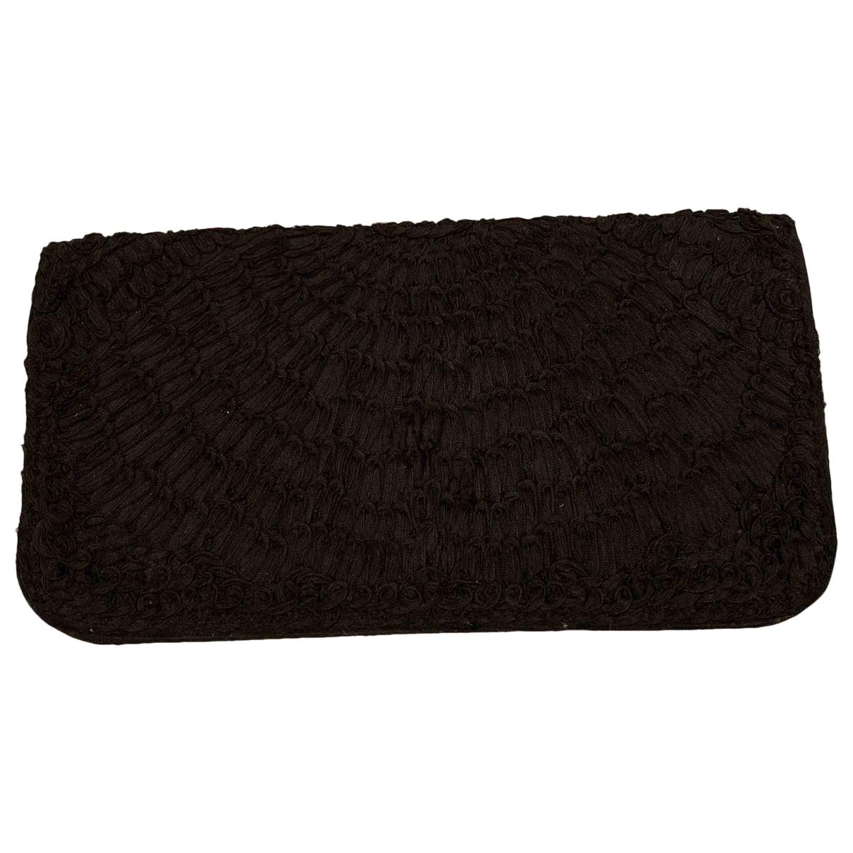 - Pochette   pour femme en coton - noir