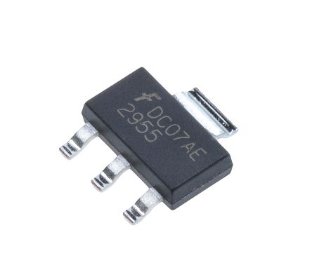 ON Semiconductor P-Channel MOSFET, 2.5 A, 60 V, 3 + Tab-Pin SOT-223  NDT2955 (5)