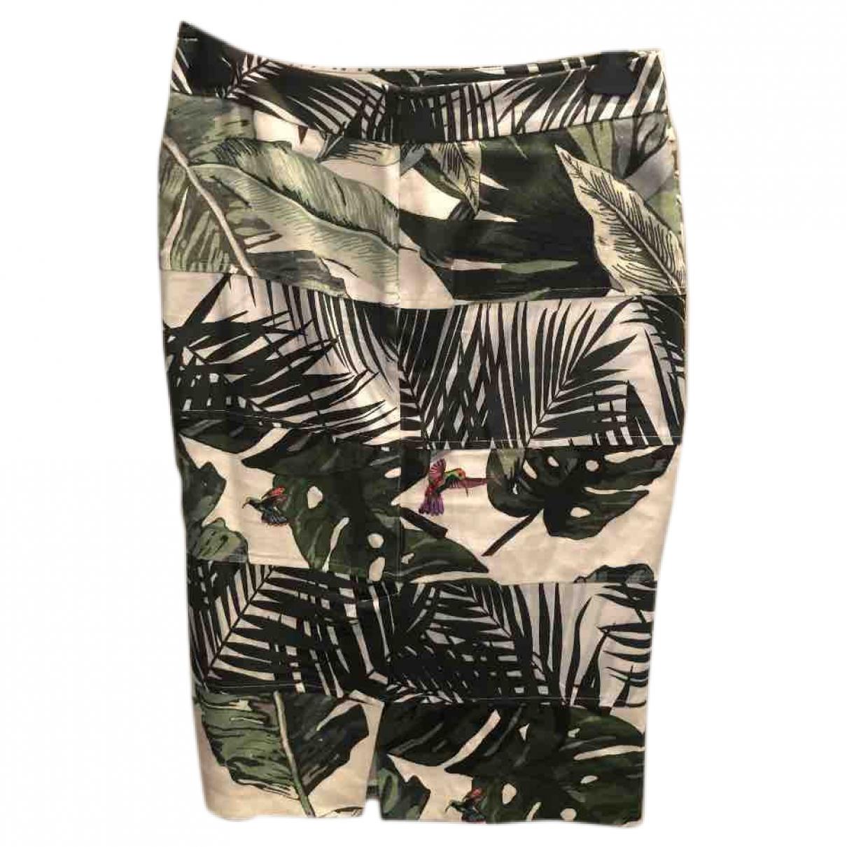 Max Mara \N Black Cotton skirt for Women 12 US