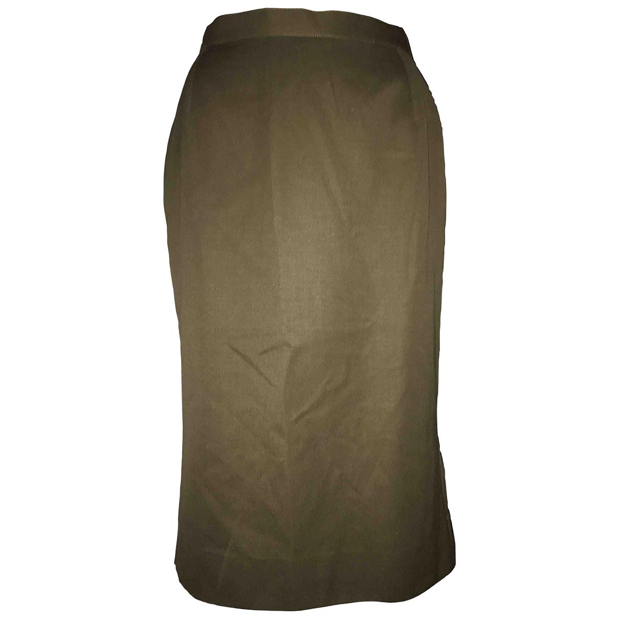 Falda midi de Seda Cacharel