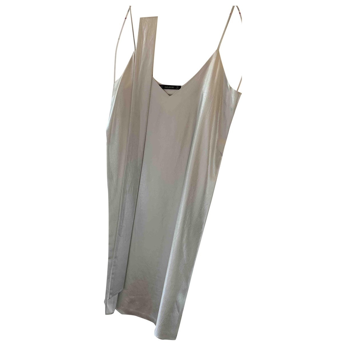 Zara \N Silver dress for Women M International
