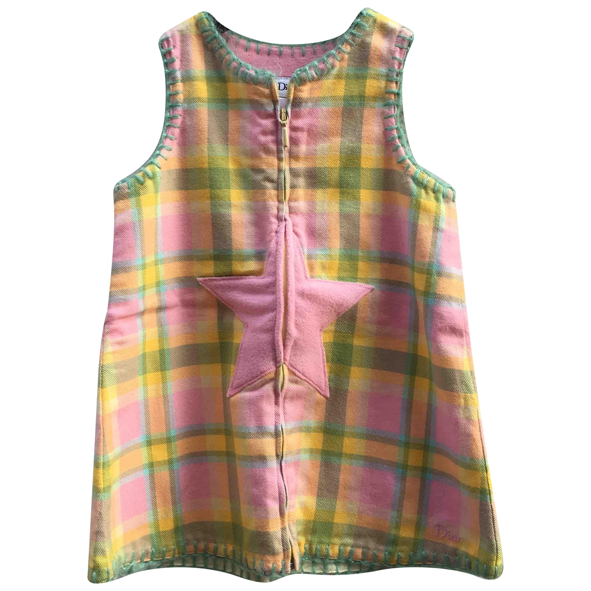 Baby Dior - Robe    pour enfant en coton - multicolore