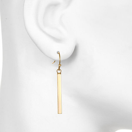 Mixit Drop Earrings, One Size , Yellow