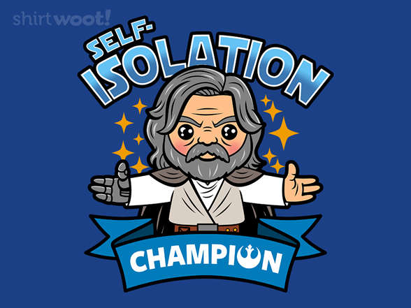 Self-isolation Champion T Shirt