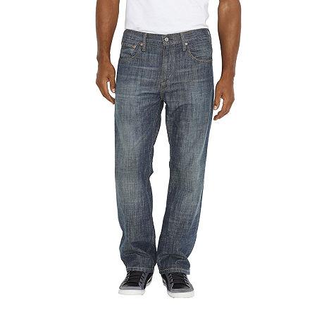 Levi's Men's 569 Loose Straight Jeans, 36 32, Gray