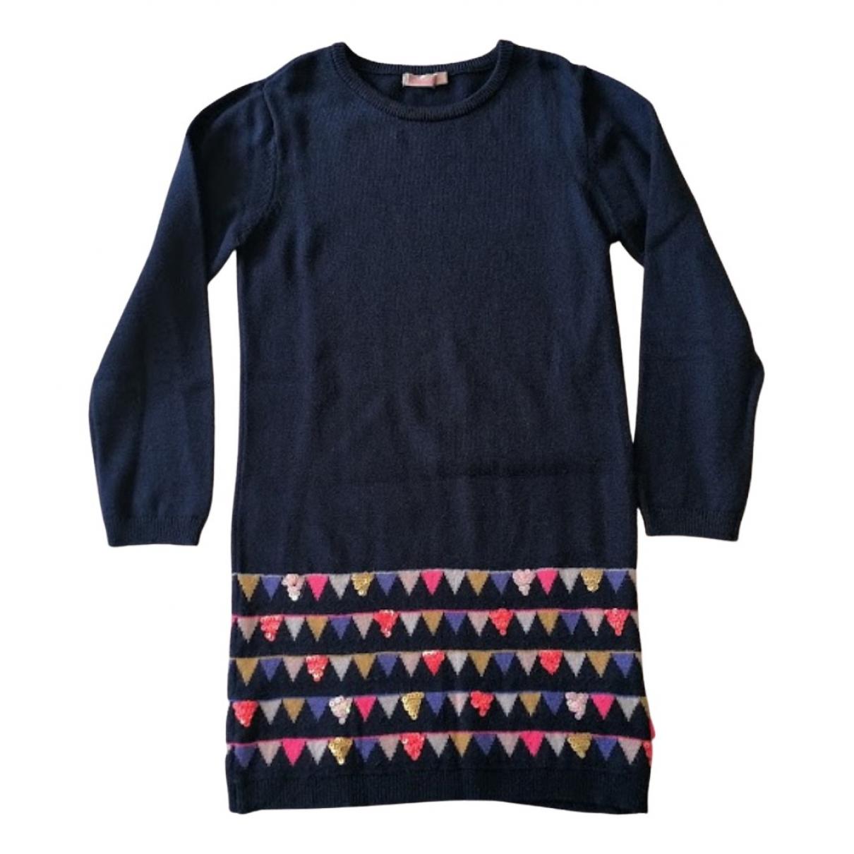 Billieblush - Robe    pour enfant - bleu