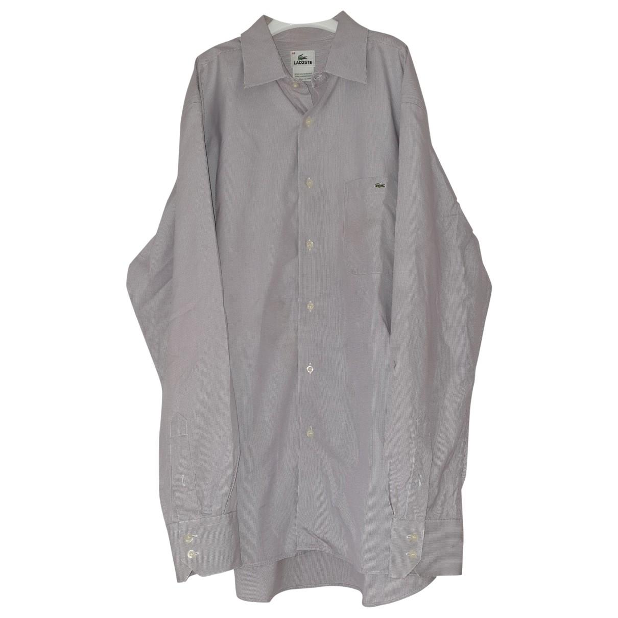 Lacoste - Chemises   pour homme en coton