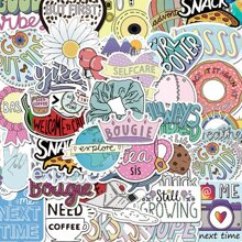 50sheets Letter Graphic Sticker