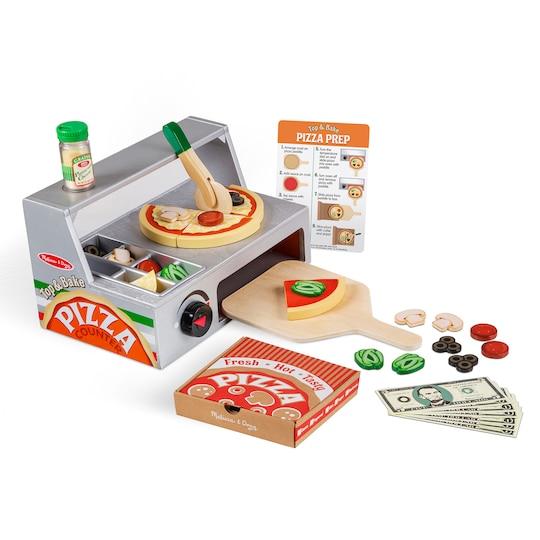 Melissa & Doug® Top & Bake Pizza Counter | Michaels®