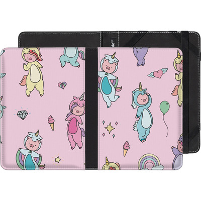 Amazon Kindle eBook Reader Huelle - Piggy Unicorns von Chan-chan
