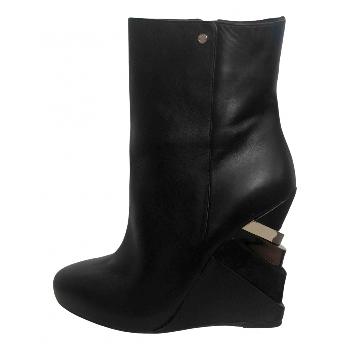 Le Silla \N Black Leather Boots for Women 40 EU