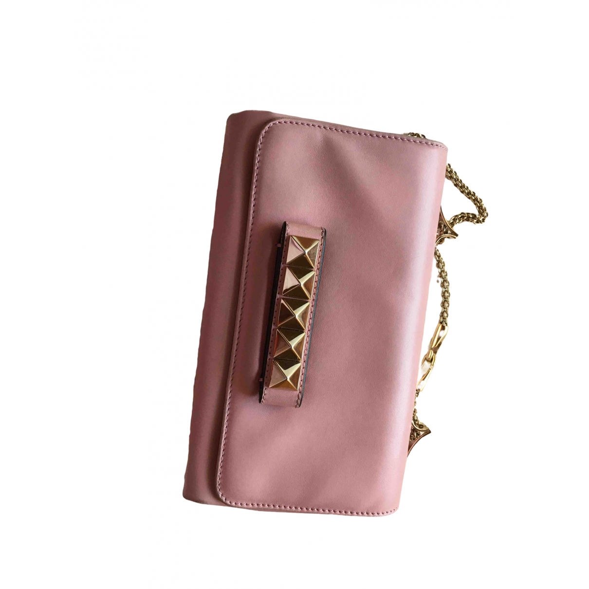 Valentino Garavani Vavavoom Pink Leather handbag for Women \N
