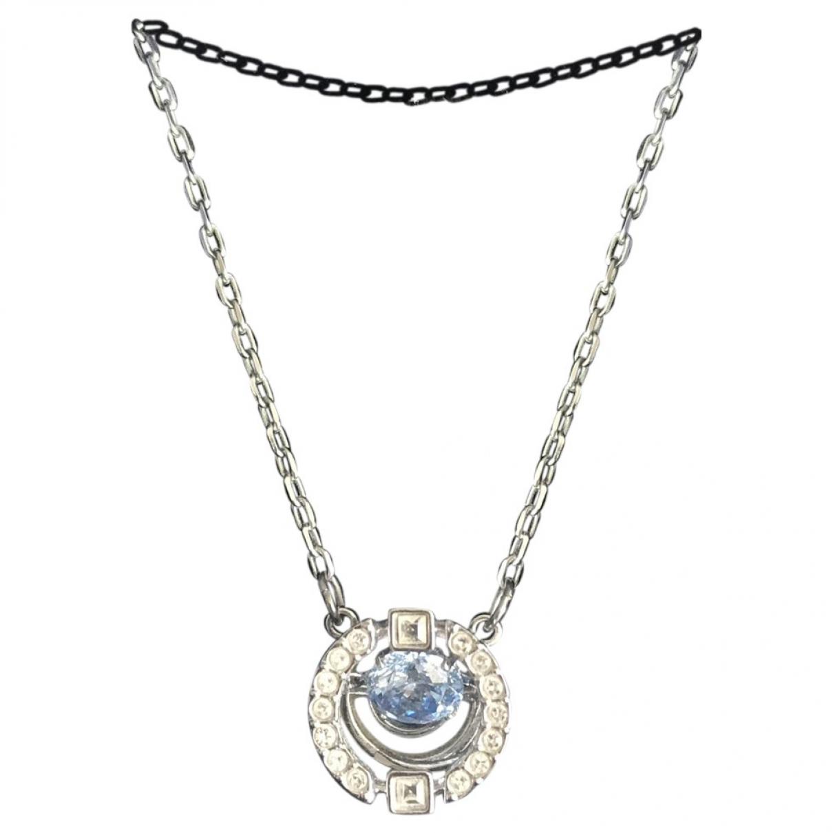Swarovski - Collier   pour femme en cristal - bleu