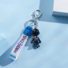 Astronaut Charm Keychain