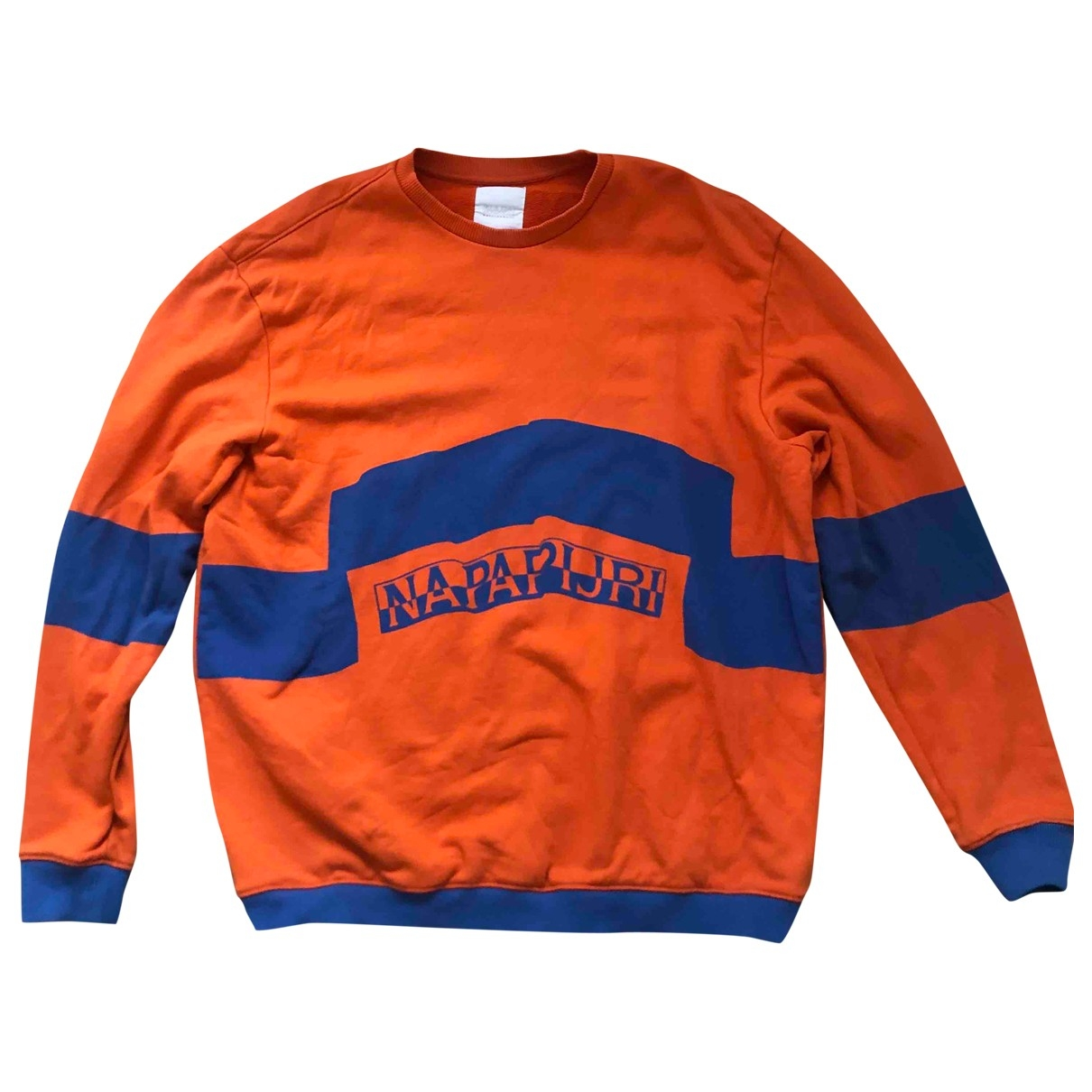 Napapijri \N Pullover in  Orange Baumwolle