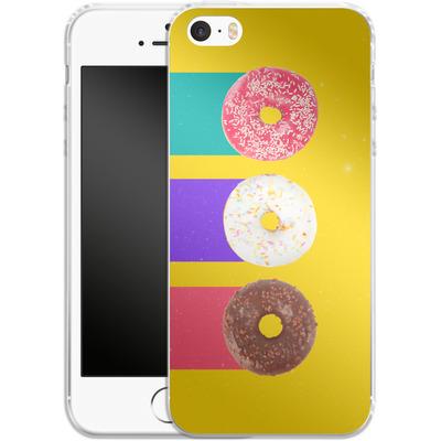 Apple iPhone 5 Silikon Handyhuelle - Donuts von Danny Ivan
