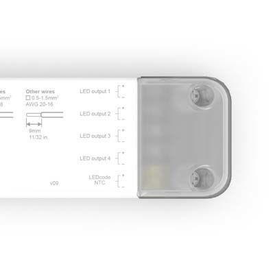 eldoLED 100W DALI CC 4x57V out long mtl/plastic (20)